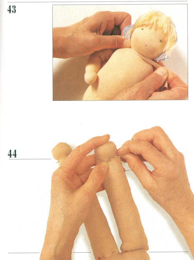 Вальдорфскую куклу своими руками 147